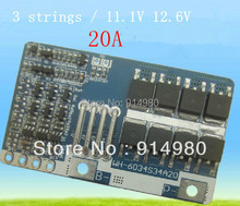 NEW 3 strings 11 1V 12 6V lithium font b battery b font protection board high