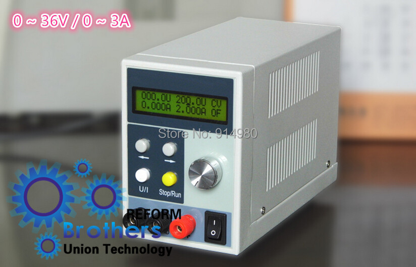 0 ~ 36V / 0 ~ 3A adjustable DC power supply reflow function, high-precision performance, pure digital