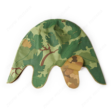 WW2 США армейский Митчелл шлем Крышка Двусторонний Открытый Полевые операции шлем для путешествий крышка