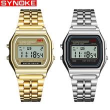 ae4aed3bbb9 Synoke hot design da marca de luxo levou relógio estilo g relógio à prova d  água para homens baratos relógios digitais eletrônic.