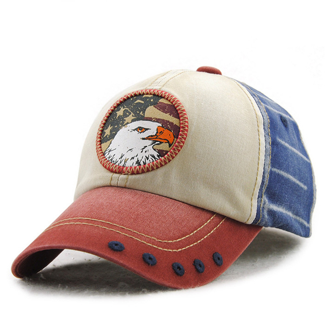 custom embroidered baseball caps uk military printed cap sundae dishes branded cotton retro personality patch eagle casual hat dad