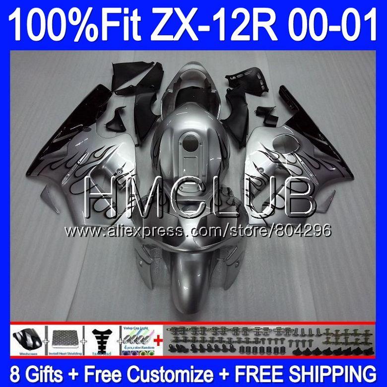Injection For Kawasaki Ninja Zx1200 C Zx 12r 00 01 47hm 2