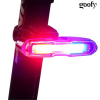 USB Rechargeable Front Rear Bicycle Light Lithium Battery LED Bike Taillight Cycling Helmet Light Lamp Mount