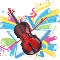 Kids Regalo Creativo Juguetes Educativos Simulación Led Violín Juguete Musical, kids Regalo de instrumentos musicales, Juguetes educativos para Niños