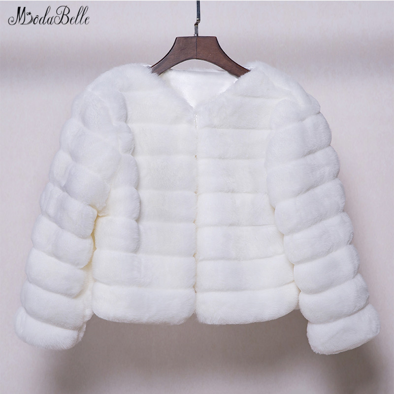 Modabelle Ivory Wedding Fur Coat 2019 Faux Fur Shawl Abrigo Novia Cape Dress Evening Wedding Shawl Bolero Mujer Fiesta
