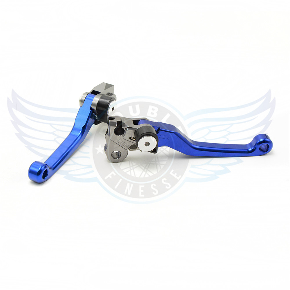 CNC motorcycle Pivot Brake Clutch Levers blue brake clutch lever For HONDA CR250R CR250 R 92 93 94 95 96 97 98 99 00 01 02 03