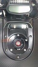 Tampa do tanque Para Diavel Ducati 2011-15 16 Fibra De Carbono Completo 100%