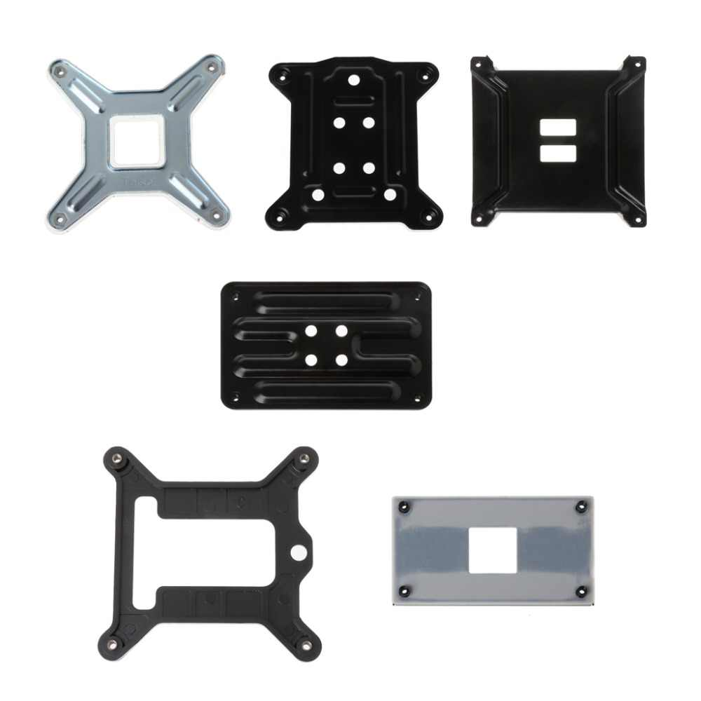 Open-SMART CPU Shim Bracket untuk Intel AMD Bracket Backplate untuk 775 1150 2011 AMD AM4