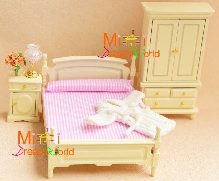 Mignon MINI Dollhouse Miniature meubles accessoires de maison de poupée Tables et chaises