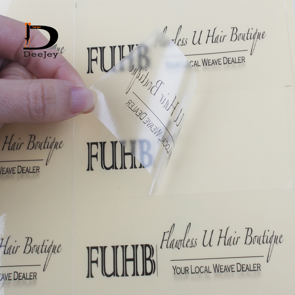 custom sticker labels logo text printed adhesive stickers pvc or coated paper 1000pcs lot