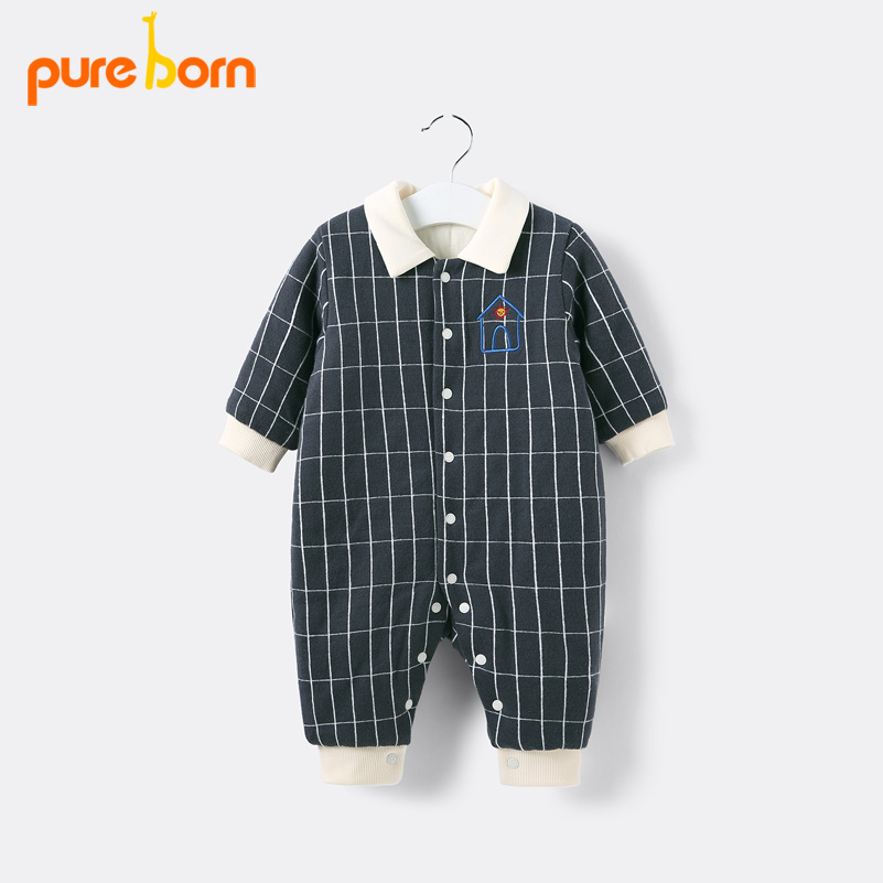 Aliexpresscom  Buy Pureborn Newborns Baby Jumpsuits Baby -5390