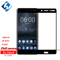 10pcs Lot 9H Full Screen Tempered Glass For Nokia 6 2017 Screen Protector Film For Nokia