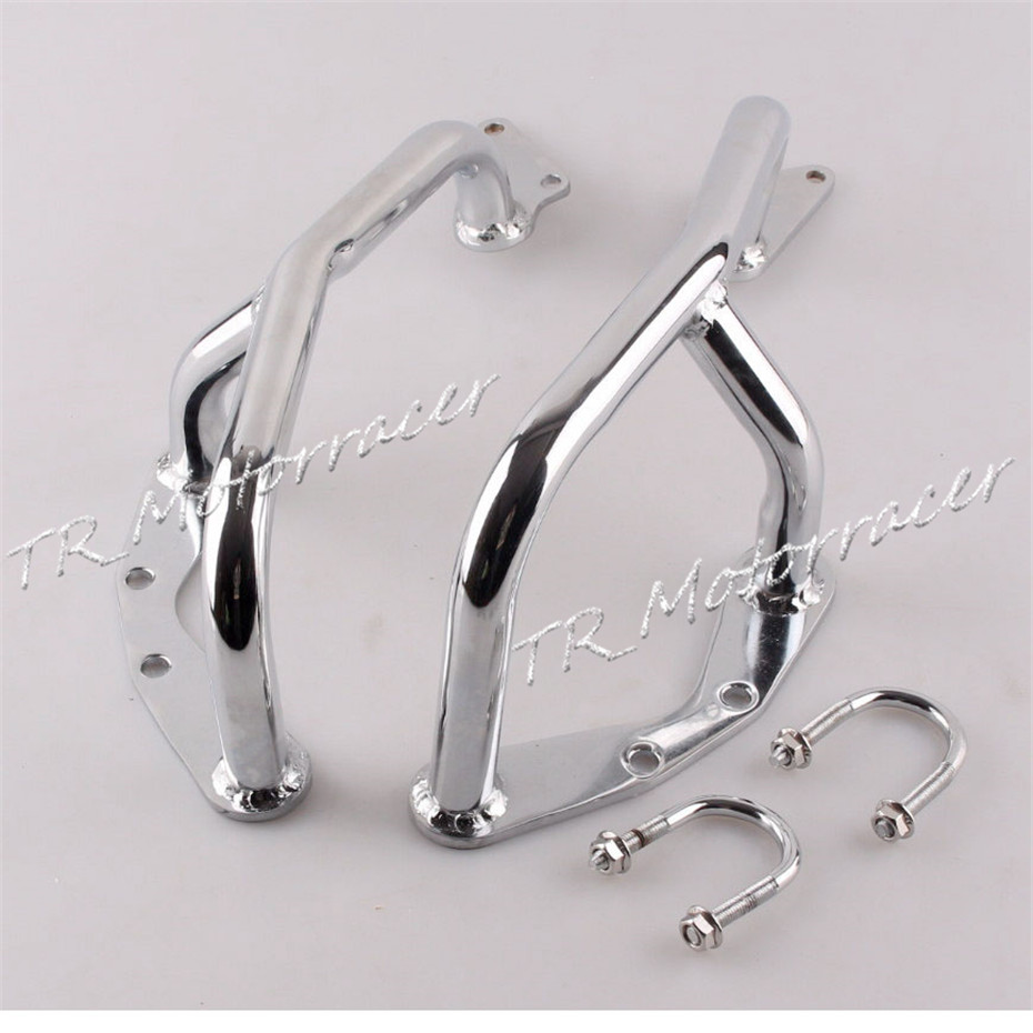 High Quality For HONDA 2010 2011 2012 2013 2014 CB1100CC Motorcycle Engine Guard Highway Crash Bars Protection Steel Silver for bmw r1200r 2007 2008 2009 2010 2011 2012 2013 2014 front engine guard highway crash bar protection black