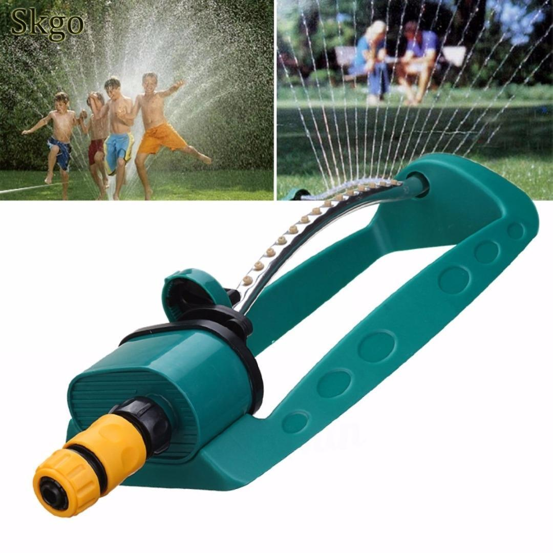 Adjustable Alloy Watering Sprinkler Sprayer Oscillator Lawn