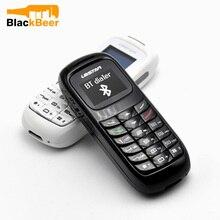 5ピース/ロットmosthink L8STAR BM70魔法音声ミニ電話のbluetooth gtstarヘッドセット最小の携帯電話300mahの0.66インチ携帯電話