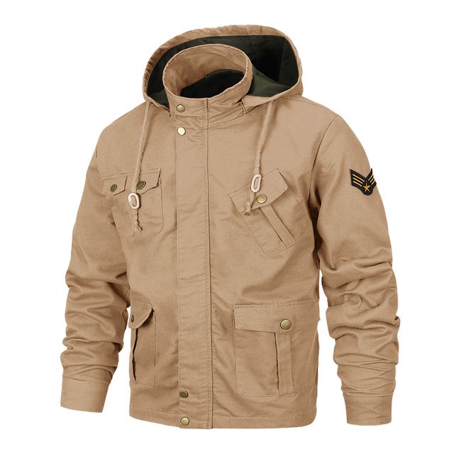 MAGCOMSEN Jackets Men Autumn Hooded Military Army Tactical Jackets Safari Windproof Cargo Coat Outwear for Men Clothing SSFC-35 1