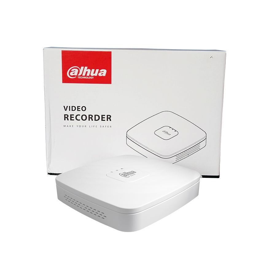 Image 5 - Dahua NVR NVR4104 P 4kS2 NVVR4108 8P 4KS2 4CH 8CH 8MP Smart 1U 4PoE 8PoE 4K&H.265 Lite Network Video Recorder  1SATA With logo-in Surveillance Video Recorder from Security & Protection