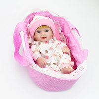 10 Inch 25cm Full Silicone Reborn Baby Dolls Lifelike Handmade Mini Reborn Bebe Babies lol Kids Bathe Playmate lol Doll Toys