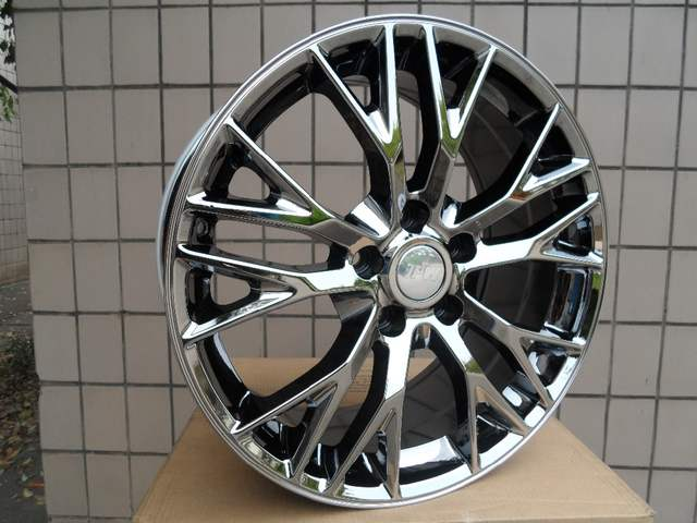 Us 920 0 Alloy Wheel Mak Munchen W Fits Bmw Serie 18 19 5x120 7 Black Chrome W591 In Wheels From Automobiles Motorcycles On Aliexpress Com
