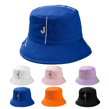 e1b44562bc775d Outdoor Fisherman Hat Unisex Printing Letter Hat Fashion Wild Sun  Protection Cap Bucket Hat Fishing Modis