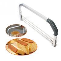 Stainless Steel Adjustable Large Interlayer Cake Cutter Saw 3 Blades Leveler Slicer Household Bakery Baking Tools Bakeware