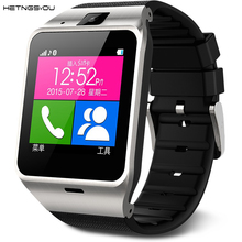 HETNGSYOU Smart Watch Clock Sync Notifier Support Sim Card Bluetooth Connectivity for Android Phone Smartwatch PK DZ09 A1 U8