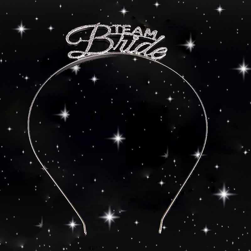 Team Braut tribe Brautjungfer Tiara Crown Wein Glas aufkleber Bachelorette Hen Party Braut zu Werden Hochzeit Braut Dusche favor geschenk