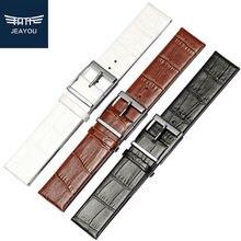 JEAYOU хорошее качество кожаный ремешок для часов Для женщин только для CK K2/Y211/Y231 пряжкой 16/18/20/22 мм