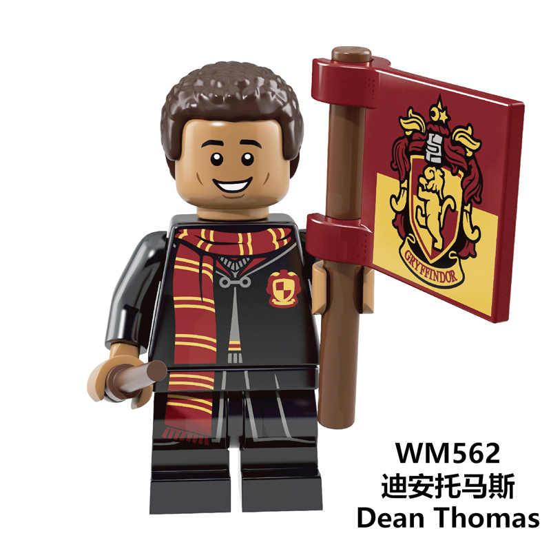 Серия Harry Potters строительные блоки Filch Ron Weasley Quirrell Волдеморт Дин Томас Модель Кирпичи игрушки для детей WM609
