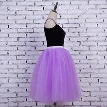 Fashion 2018 Maxi Long Tutu Tulle Skirts Womens Pleated Skirt American Apparel Elastic Lolita Petticoat faldas mujer saias Jupe