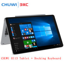Chuwi hi13 3000×2000 3 k 13.5 pulgadas 2 in1 tablet pc la pantalla del ips tabletas de windows apollo lago n3450 quad core 4 gb 64 gb dual wifi otg