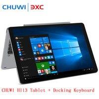 Chuwi Hi13 3000 × 2000 3 k 13.5インチ2 in1のタブレットpcのipsスクリーンwindows錠アポロ湖N3450クアッドコア4ギガバイト64ギガバイトデュアル無線lan otg