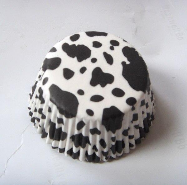 1000x animal imprimé zèbre léopard vache Camouflage papier mariage Cupcake Liner muffin tasse gâteau cuisson moule étui pour fête danniversaire
