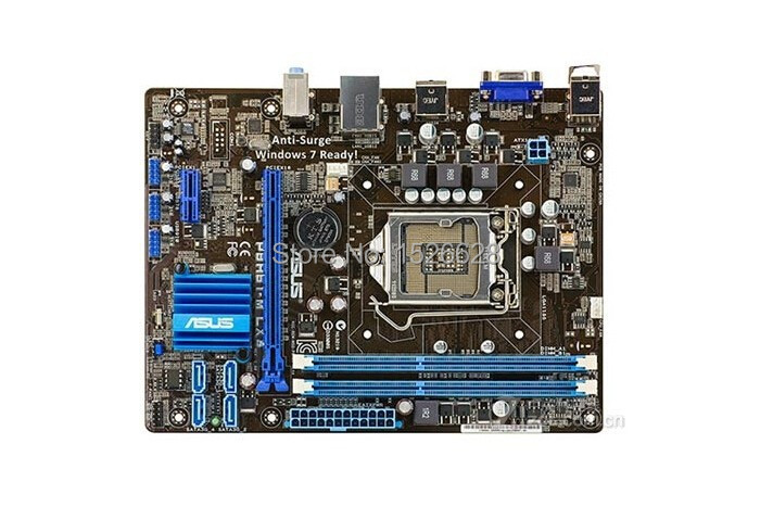 Livraison gratuite 100% d'origine carte mère pour ASUS P8H61-M LX3 PLUS R2.0 DDR3 LGA 1155 Soutien I3 I5 I7 De Bureau motherborad