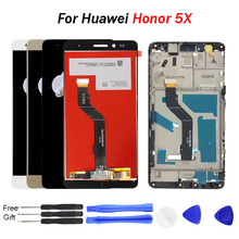 For Huawei Honor 5X LCD Display Touch Screen Digitizer Assembly Replacement For Huawei GR5 5.5 inches for Honor 5x screen LCD 5 2 for huawei honor p8 lcd screen display touch screen digitizer assembly free shipping
