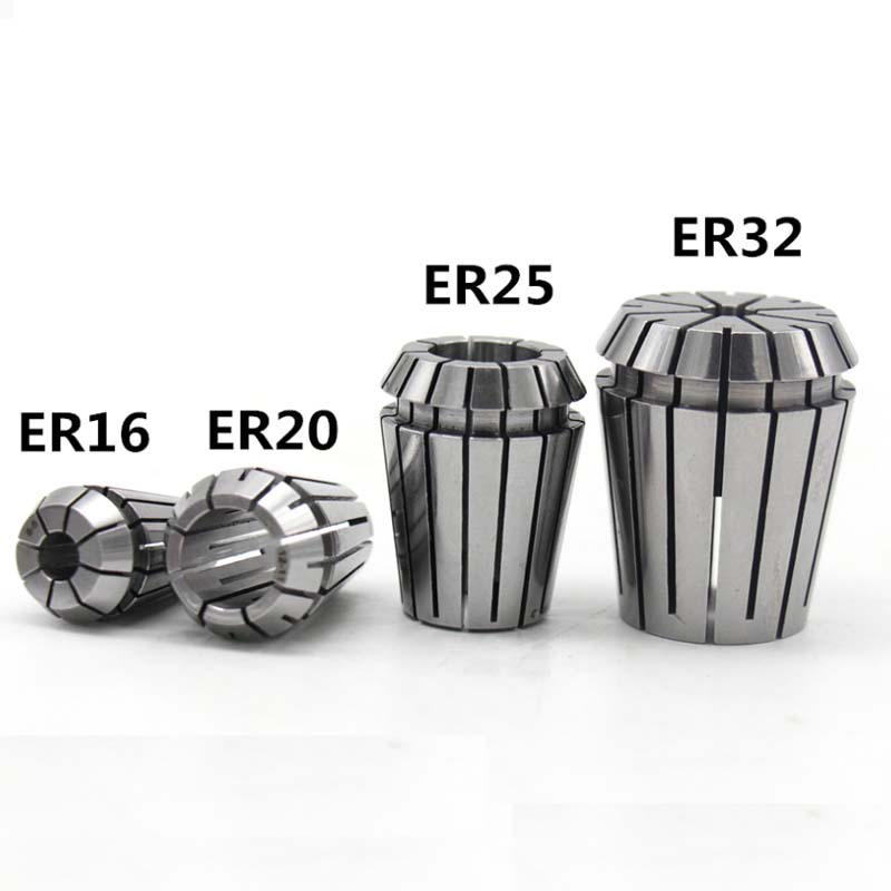 ER20 Spring Steel Collet Chuck Replacement For CNC Milling Lathe Tool Engraving