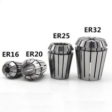 1PCS ER11 ER16 ER20 ER25 ER32 collet chuck for CNC milling tool Engraving machine spindle motor(China)