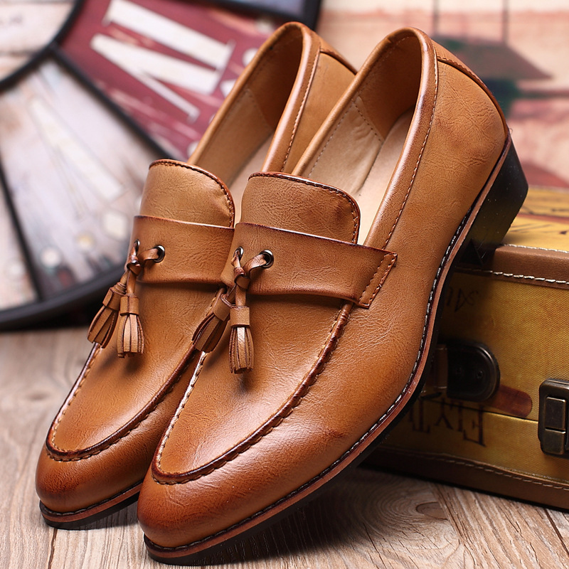 Men Shoes European Style Handmade Genuine Leather Mens Brown Monk Strap  Formal Shoes Office Business Wedding 54d5e6230e82