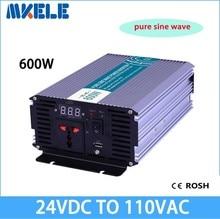 Pwoer MKP600-241 600 w fuera de la red de onda sinusoidal pura del inversor 24vdc 120vac power inverter, convertidor de voltaje, inversor solar