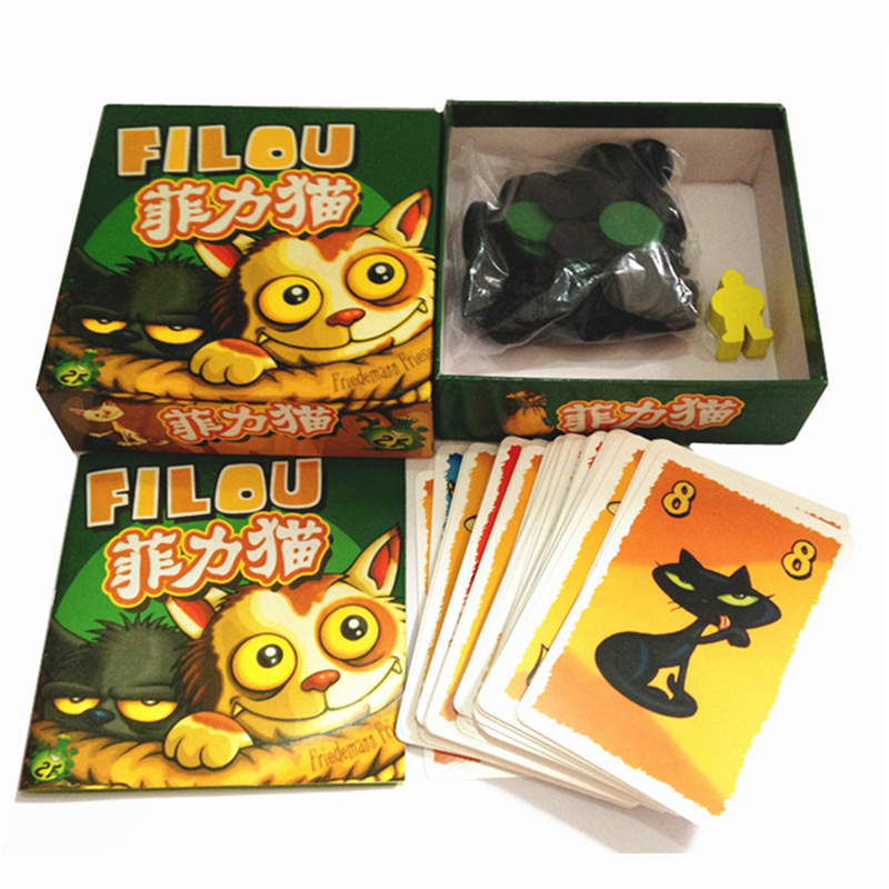 Felix: The Cat in the Sack Board Game 3-5 Players to Play Family/Party/Friends Funny Auction Game Send English Instructions