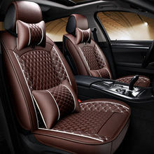 Customized Car Seat Covers Leather Automobile 5 Seats General High Quality Comfortable Full Cover For