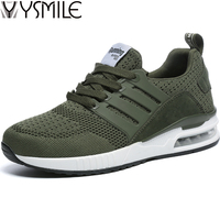 2018 High Quality Fashion Air Men Casual Shoes Black Sneakers Male Walking Shoes Amy Green Mens