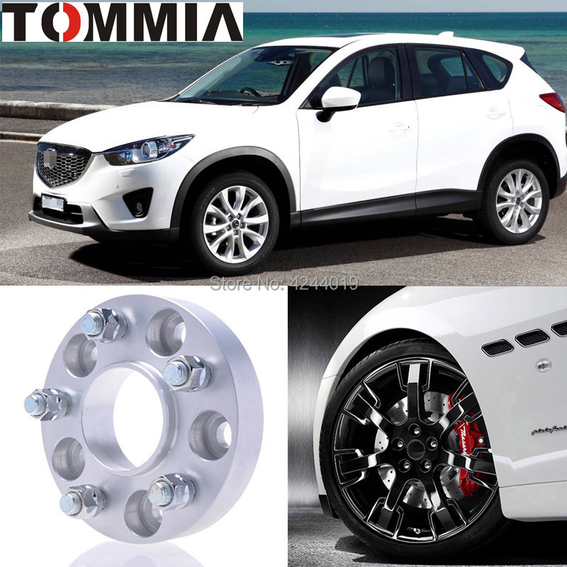 Us 7999 Fits Mazda Cx 5 2pcs Wheel Hub Centric Spacers Tire Adapters Rims Flange 5x1143 Center Bore 671mm Aluminum In Tire Accessories From