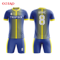 men quick dry red soccer uniform high quality full sublimation custom football jersey