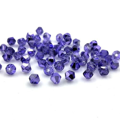 4mm 1000pcs Charms Jewelry Crystal Glass 5301# Bicone Loose Beads 70 Colors