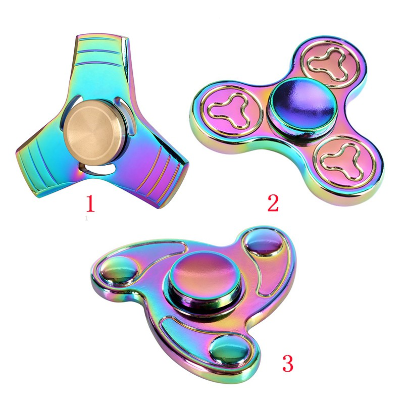 Aluminium Alloy Hand spinner Toy Steel Bearing Fidget Toy For Autism ADHD Anxiety Stress Relief Toys