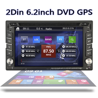 G2240U 6 2 Double 2din Car GPS Navigation IPod Radio Car Stereo HD Touch Screen CAR