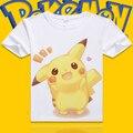 Pokemon Pikachu T-shirt Men and Women Anime Cosplay Costume couple lover tshirt t shirt tee top