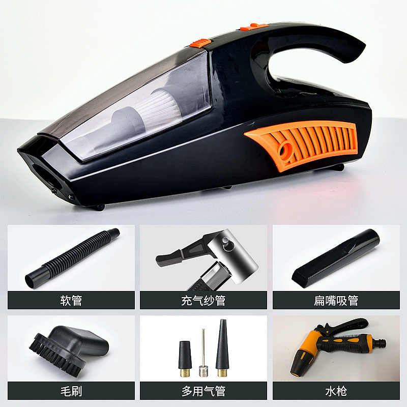 HOODAKANG 100w Mini Vacuum Cleaner Car Cleaner Handheld Portable 12V Powerful Auto Cleaning Tools Auto home Vacuum Cleaner auto mini handheld 100w car vacuum cleaner auto portable dust brush for car 12v car air compressor tyre inflator infation pumb