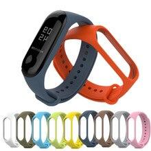 Band Voor Xiaomi Mi Band 4 3 Sport Band Horloge Siliconen Polsband Voor Xiaomi Mi Band 4 3 Accessoires Armband Miband 4 3 Band